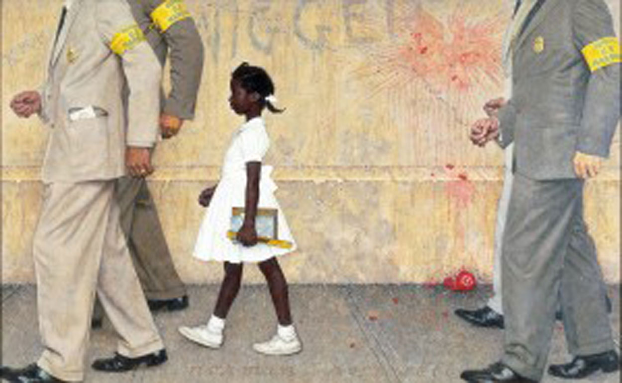 Obama Borrows Iconic Civil Rights Era Painting New