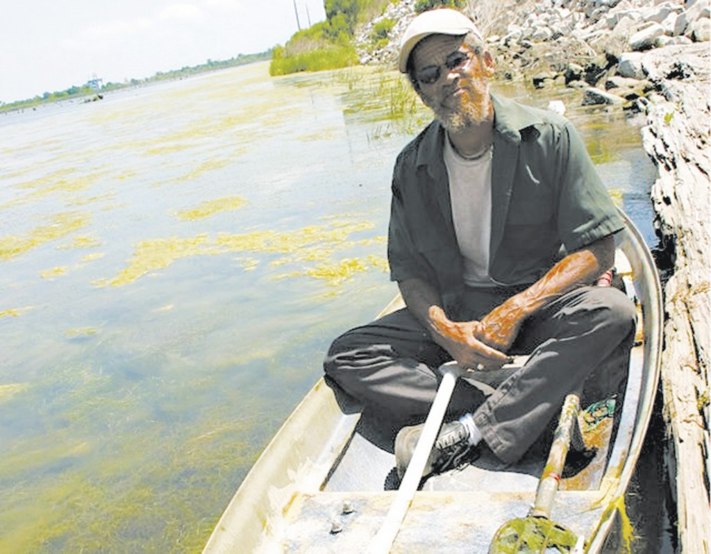 Lower Ninth Ward resident John Taylor grew up next to Bayou Bienvenue. (Photo courtesy of Lower Ninth Ward Center for Sustainable Engagement and Development)