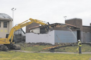 Rosenwald Center torn down last week to make way for a new facility. Courtesy of City of New Orleans