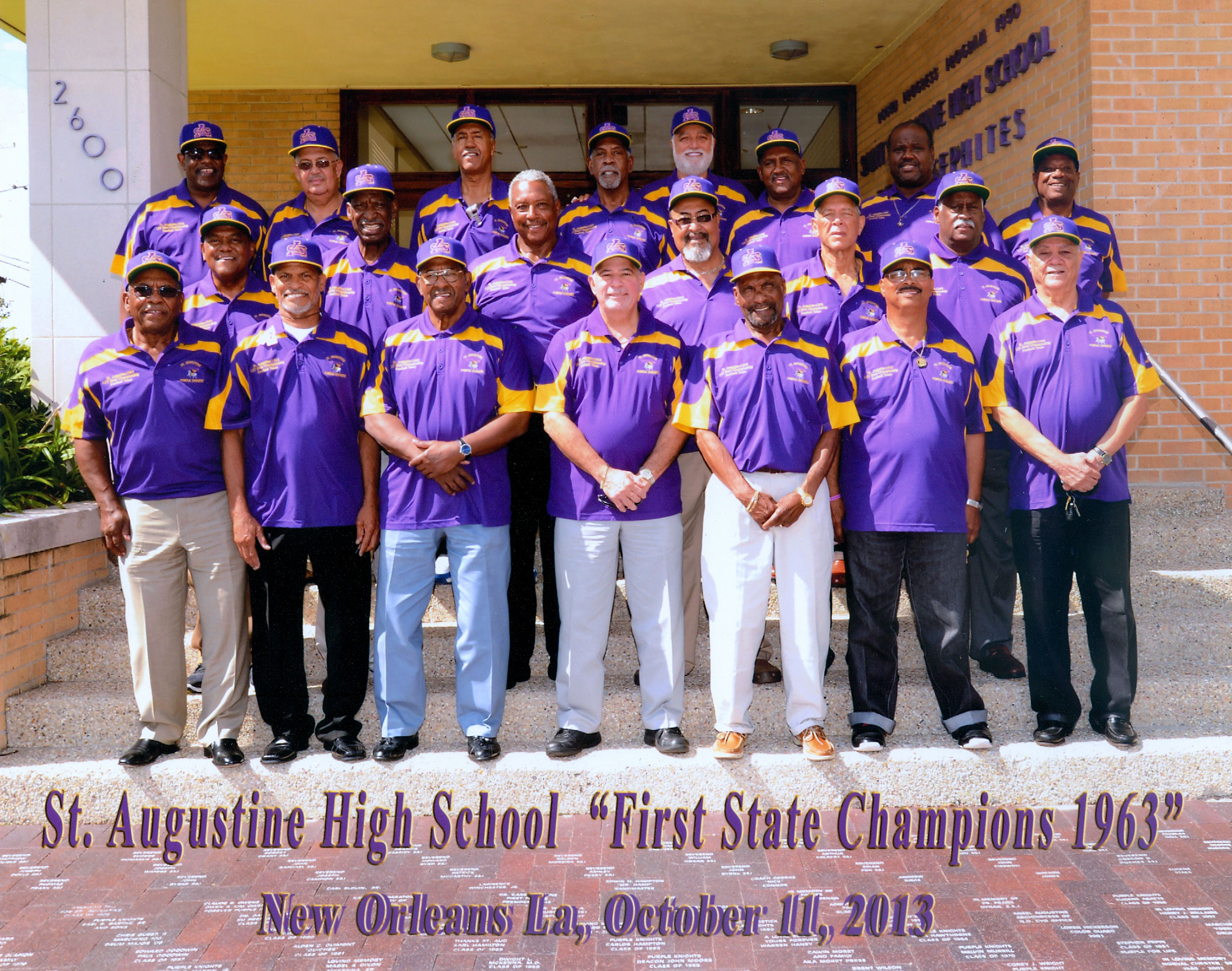 Purple Knights Celebrate Golden Moment In History New