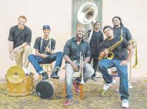 NEW BREED BRASS BAND Photo by Jafar M. Pierre
