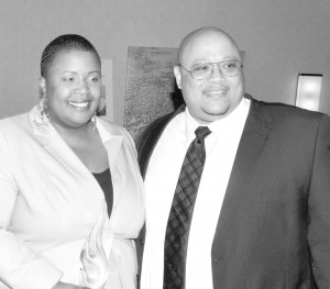 Cleopatra and Nathaniel A. Pendleton, Sr., parents of Hadiya Pendleton, also were recipients of the NNPA Foundation award. Photo by Roy Lewis