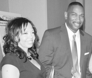 Lucy McBath and Ron Davis, parents of Jordan Davis, are the recipients of NNPA Foundation award. Photo by Roy Lewis