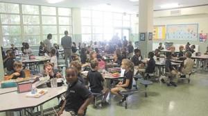 Students of the Morris Jeff Community School.