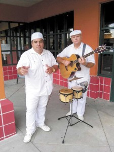 LOS CABALLEROS' LEADER GUILLERMO 'EL MONO' (THE MONKEY) GUZAMAN and ALEXIS GUEVARA MUNOZ.