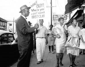 1960 consumers' boycott on Dryades St.