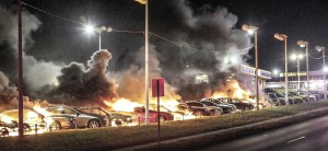 Ferguson grand jury decision ignites violent protests in Missouri and demonstration in more than 170 U.S. cities.