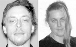 These undated photos provided by the Las Vegas Metropolitan Police Department shows Jerad and Amanda Miller. Investigators are looking into whether Miller and his wife Amanda, who shot and killed two Las Vegas police officers, had been at Cliven Bundy's Nevada ranch during a standoff last year, police said, June 9. Assistant Sheriff Kevin McMahill said Jerad Miller and his wife, Amanda, had ideology that was along the lines of 'militia and white supremacists' and that law enforcement was the 'oppressor.'