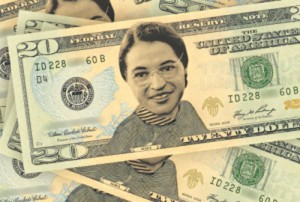 Putting the face of Rosa Parks on the $20 bill is becoming increasingly popular.