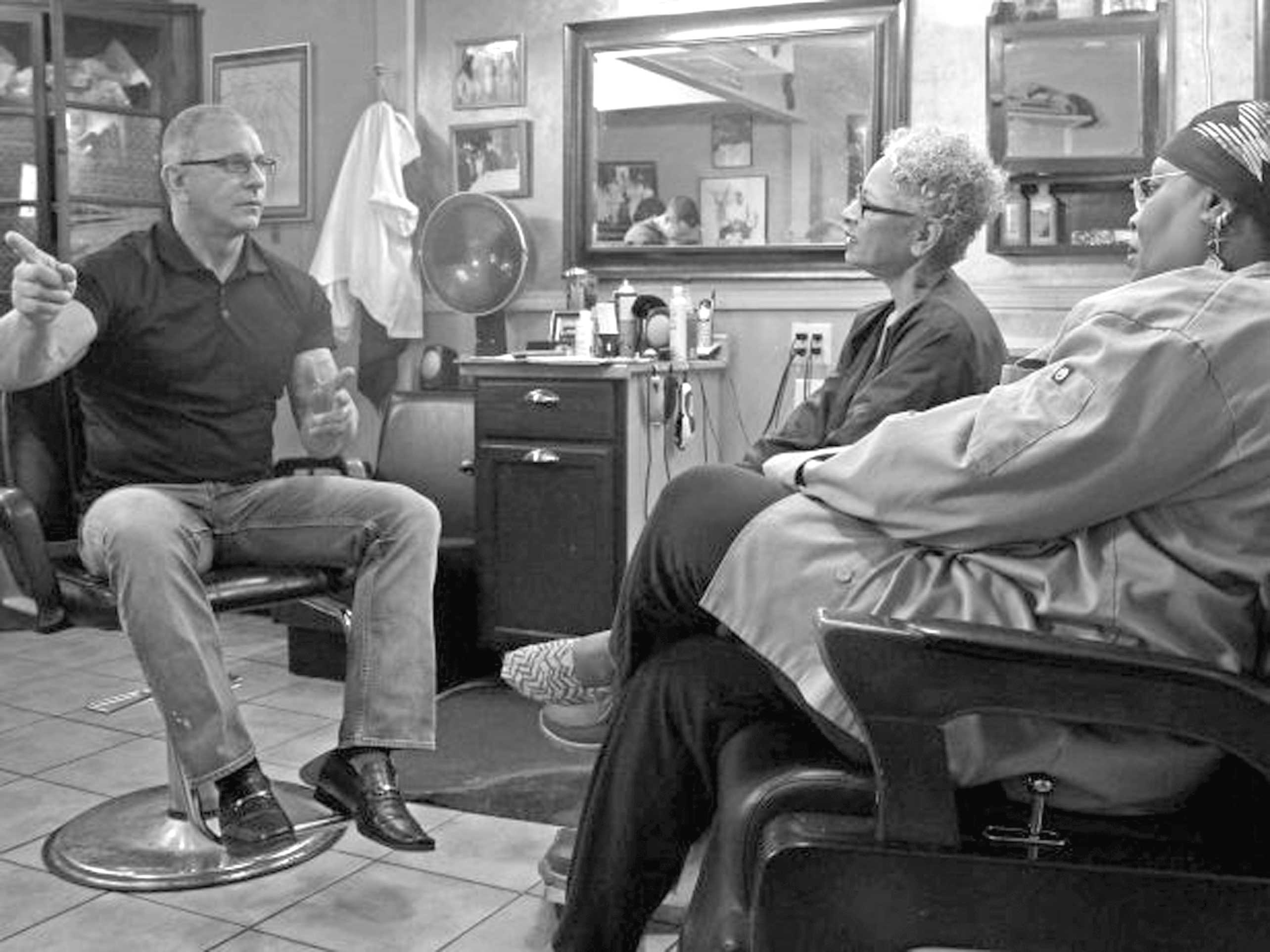 Barber Shop Irvine : ? host Robert Irvine talks with owners of the JuJu Cafe and Barber ...
