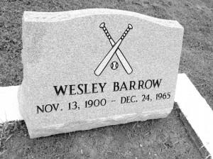 Wesley-Barrow-headstone