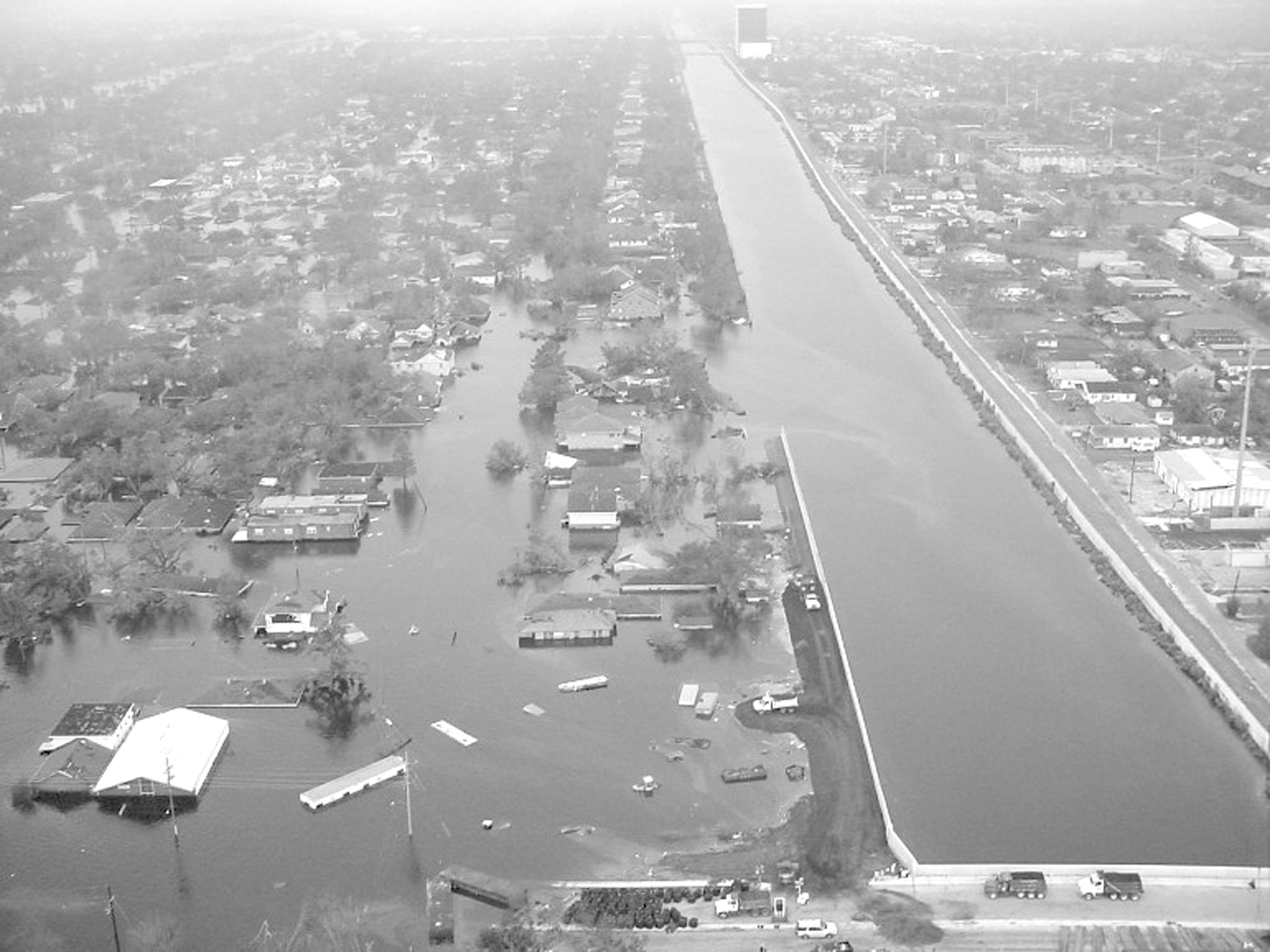 hurricane katrina and the levee system New orleans levee: report details what went wrong and why  50 locations along the system during hurricane katrina  portion of a levee system and have .