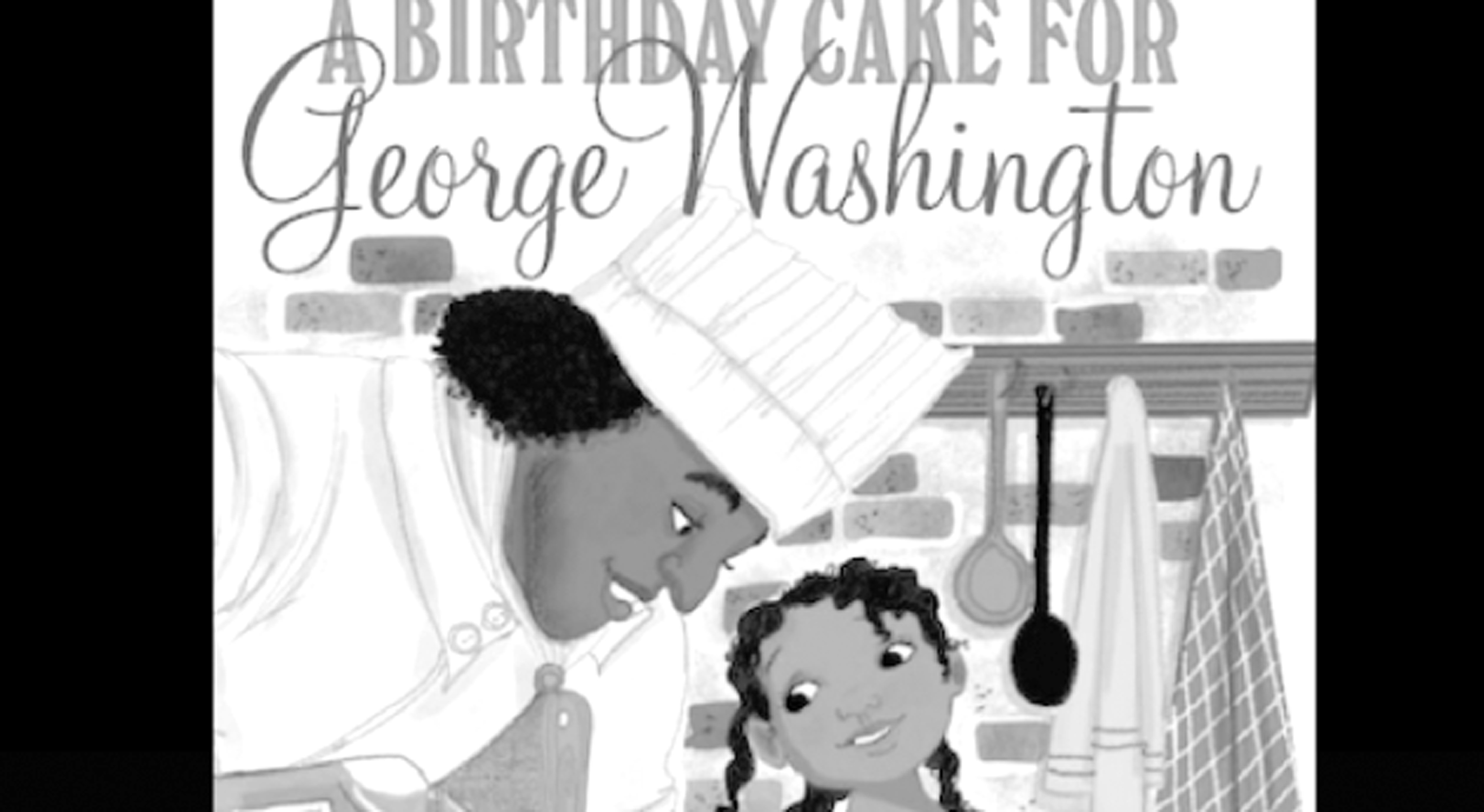 a-birthday-cake--george-was