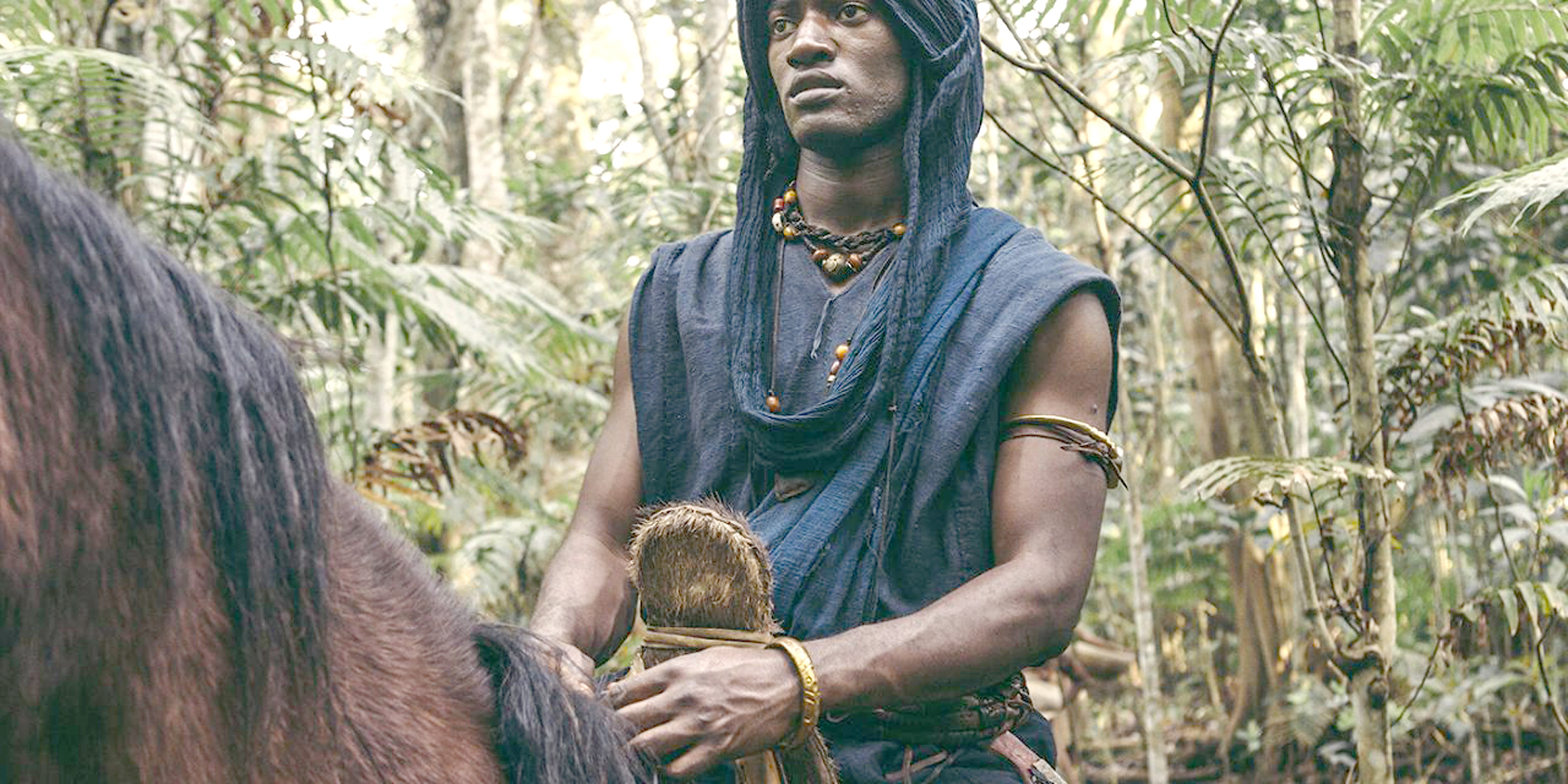 Malachi Kirby stars as Kunta Kinte in the 'Roots' remake.
