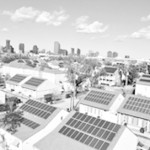 Rooftop solar installations at River Garden Apartments in New Orleans