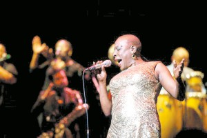 Sharon Jones in the documentary 'Miss Sharon Jones!' (Starz Digital)