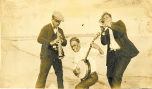 From the pages of A Life in Jazz by Danny Barker, edited by Alyn Shipton is the above photo of Danny Barker, in 1928, in Pensacola, Florida.