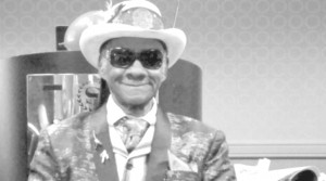New Orleans icon Little Freddie King, 76 (he's in Beyonce's 'Lemonade' video), told experts of his life in the blues, at a recent gerontology conference.