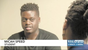 In an interview shortly after his suspension from a North Carolina high school, 15-year-old Micah Speed reveals how he endured months of racist bullying before reaching his breaking point.