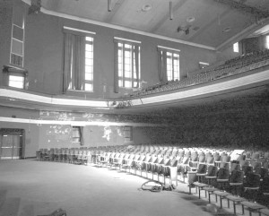 The school's auditorium, for years the only large venue open to African-Americans, will be restored.