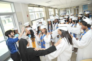 A more recent setting of St. Mary's tens of hundreds of graduating seniors who have passed through the halls of the Academy.