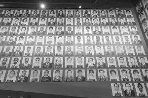 Mug shots of Freedom Riders displayed at Civil Rights Museum