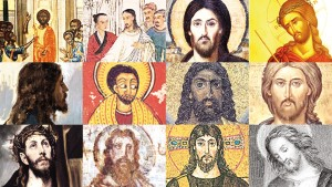 This collage, published by Christianity, illustrates some of the different depictions of Jesus. Theologians say the darker hue is most accurate